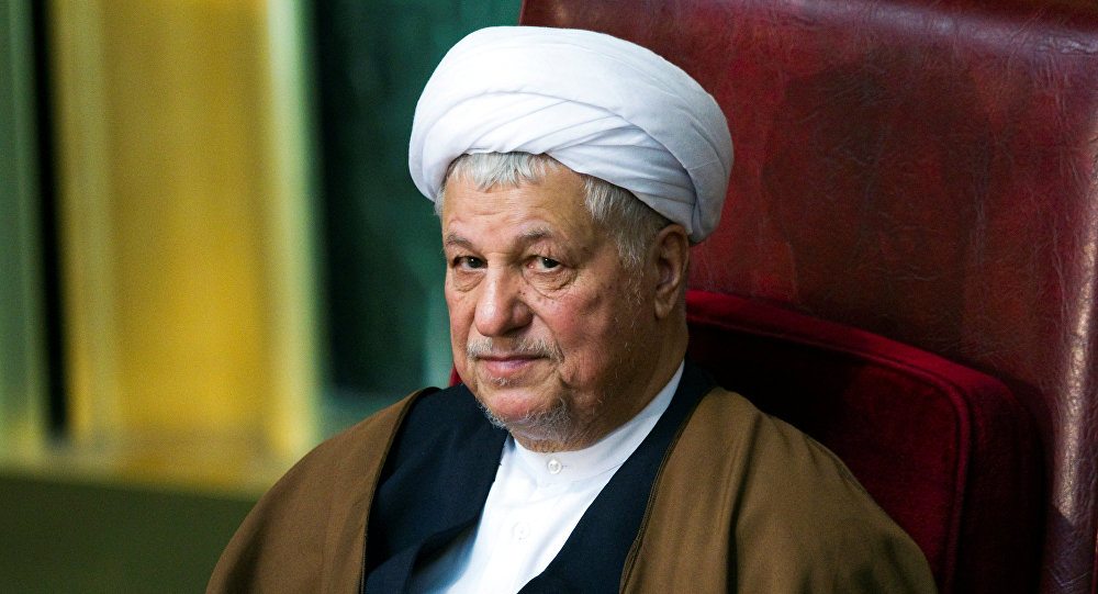 Former Iranian president Akbar Hashemi Rafsanjani attends Iran's Assembly of Experts biannual meeting in Tehran. (File)