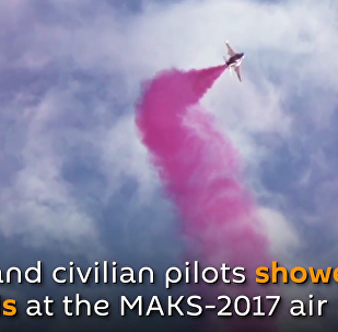 Pilots Show Off Their Incredible Skills at 2017 MAKS Air Show