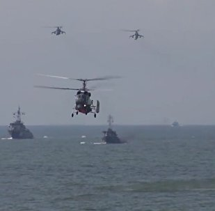 Russian Baltic Fleet Marines Practice Amphibious Assault